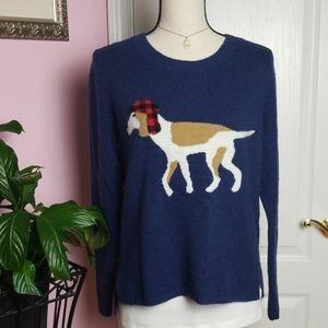 Woolrich beagle dog hunter sweater S
